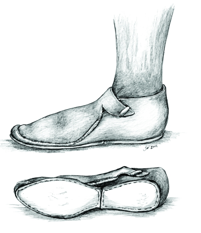 Reproduction of Medieval Shoe (Sara Nylund)