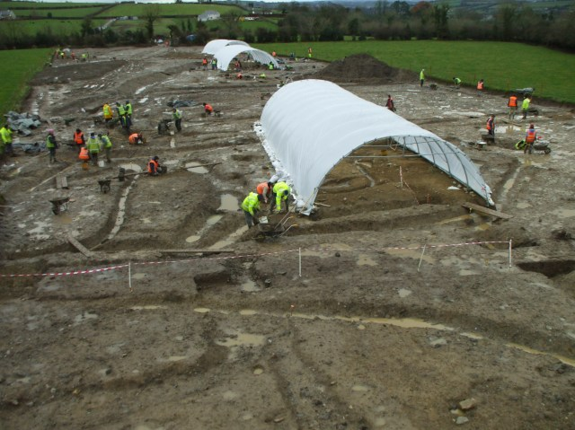 Rubicon Heritage's Excavations at the Deserted Medieval Village of Mullamast, Co. Kildare